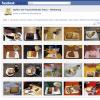 Wie Facebook zum Kuchenbuch wird.