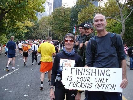 New York Marathon Central Park Option