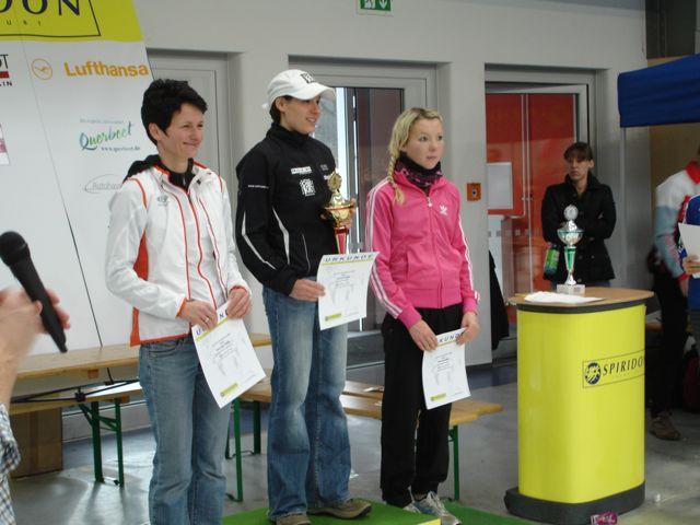 Siegerinnen: Jenny Schulz, Veronika Ulrich und Nina Stoecker.