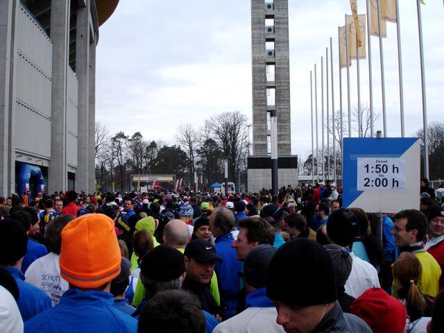 Frankfurt Halbmarathon Start