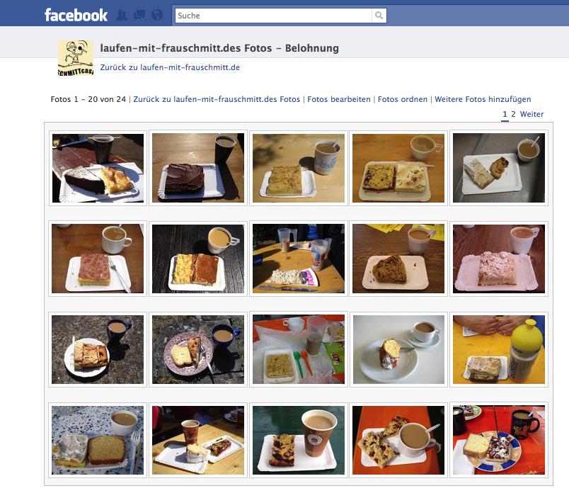 Facebook Kuchenserie
