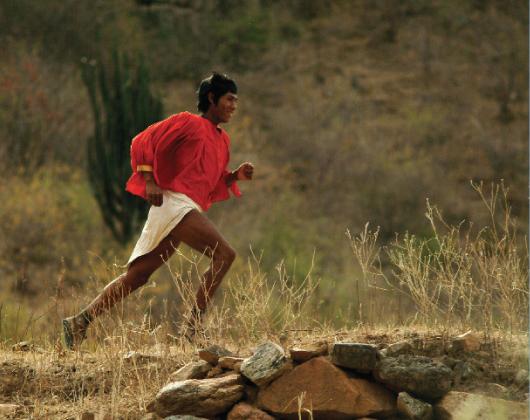 Tarahumara-Champion Arnulfo Quimare