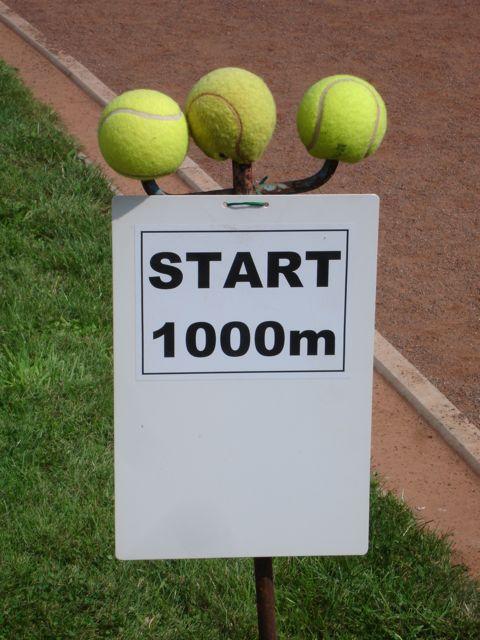 Brutal: so enden hier Tennisbälle.