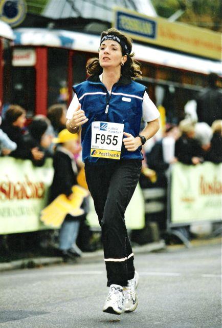 Frankfurt Marathon 2000 bei km 41