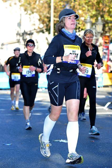 Frankfurt Marathon 2010 bei km 40,5