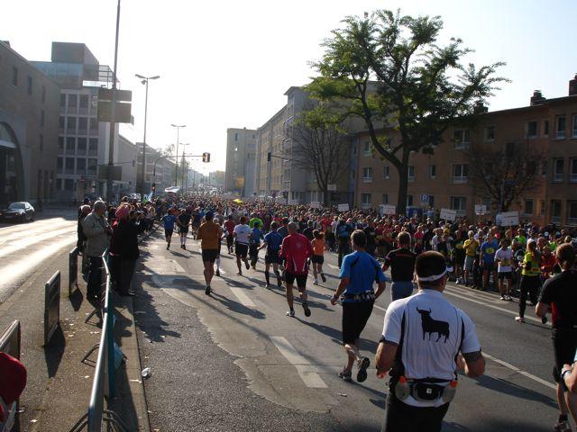 Frankfurt Marathon Brücke