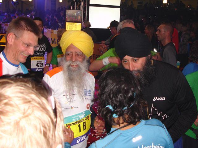 Frankfurt Marathon Fauja