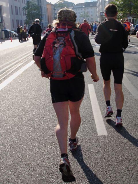 Frankfurt Marathon Gepäck