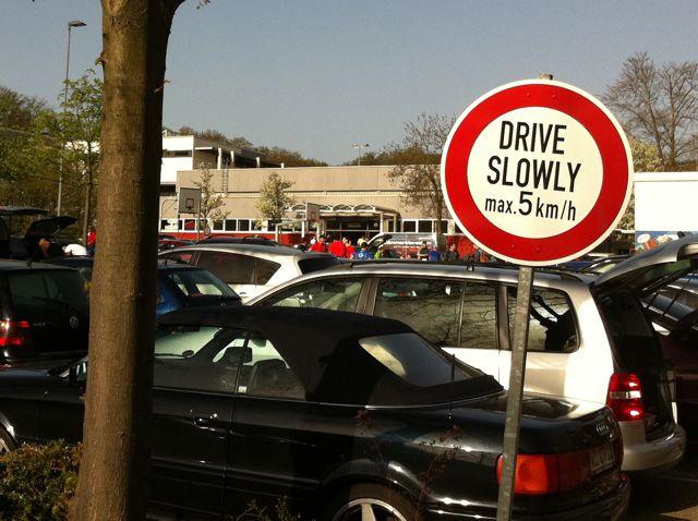 Oberstes Gebot: Langsam, langsam. Fahren und Laufen.