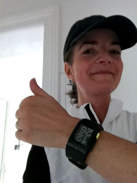 Schmitt mit Nike Watch
