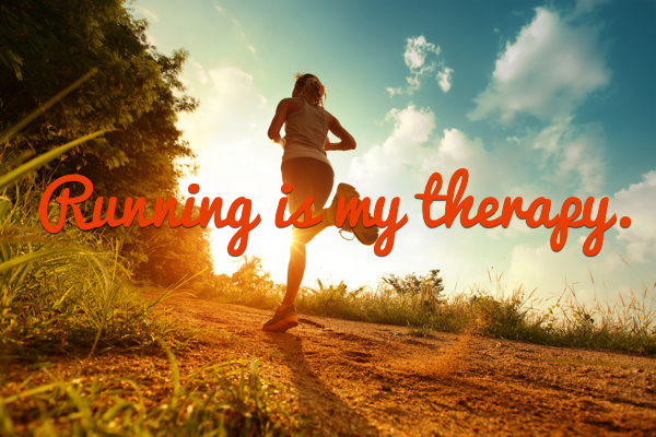 Image result for running is my therapy