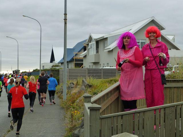 Reykjavik Marathon Rosa