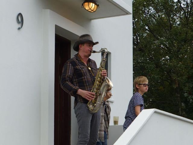 Reykjavik Marathon Saxophon
