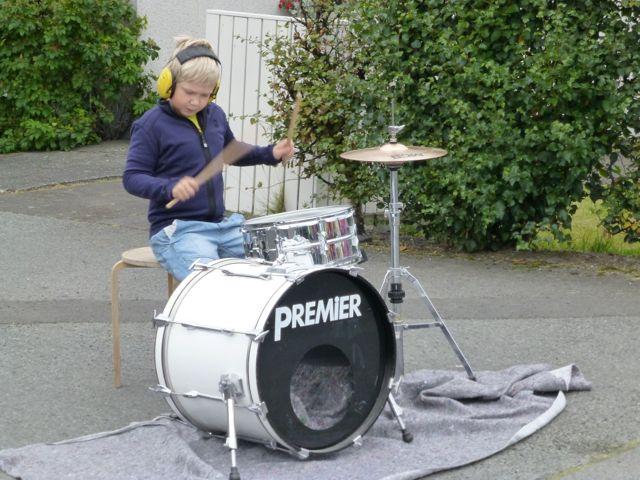 Reykjavik Marathon Schlagzeug